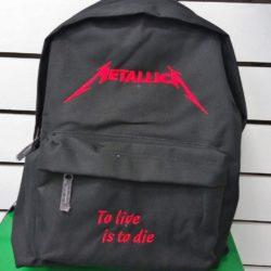 Σακίδιο πλάτης Metallica logo