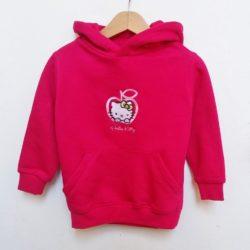 Παιδικό φούτερ με κουκούλα Hello Kitty apple