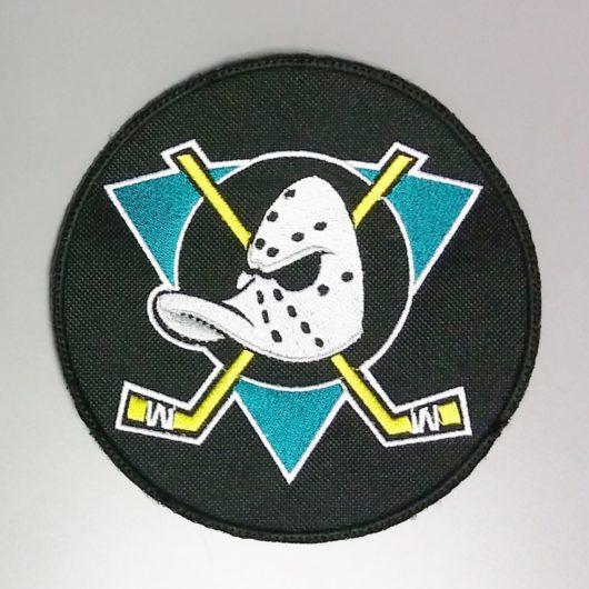 Anaheim Ducks hockey team iron on patch