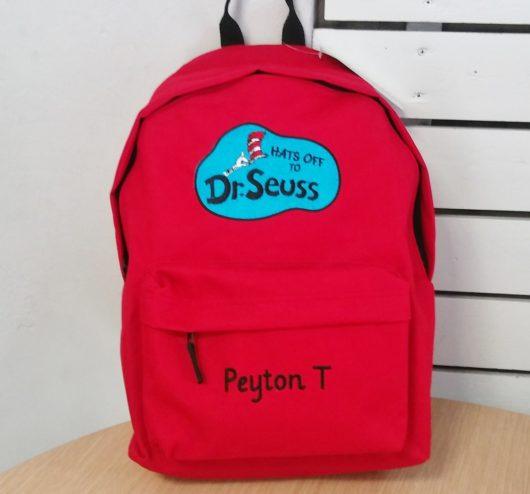 Σακίδιο πλάτης Dr. Seuss Hats off