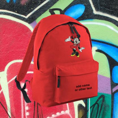 Σακίδιο πλάτης Minnie Mouse red dress